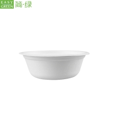Biodegradable Corn Starch Disposable Food Packaging Bowl For Soup Container