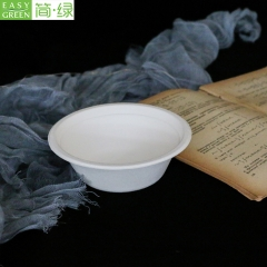Compostable Food Paper Bowls Biodegradable For Soup