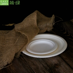 Biodegradable Paper Pulp Food Tray For Lunch Food Container