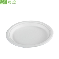 Cornstarch Biodegradable Plate Disposable For Cake