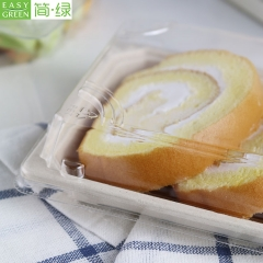 Disposable Paper Food Container Trays With Lid For Good Food Packaging