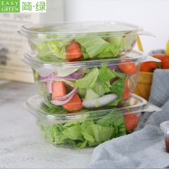 Disposable Salad PLA Biodegradable Packaging Container Box