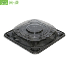 Disposable Plastic Nut Snack Containers Tray With Lid