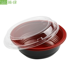 Microwave Soup/Noodle Bowl With Lid For Lunch Container